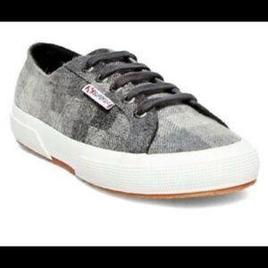 Superga Italian Plaid Poly-wool Unisex Sneakers 7